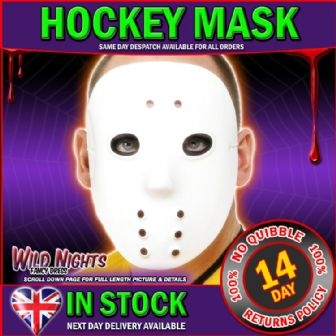 FANCY DRESS ACCESSORIES # HOCKEY MASK